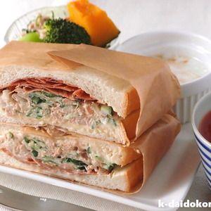 たっぷりのツナサラダに厚削りのかつお節を合わせてみました 昔からサンドイッチといえば、タマゴサンドにハムサンド、そして、ツナサンド!? 最近はもっと豪華な具を挟んだオシャレなサンドイッチもたくさんある...