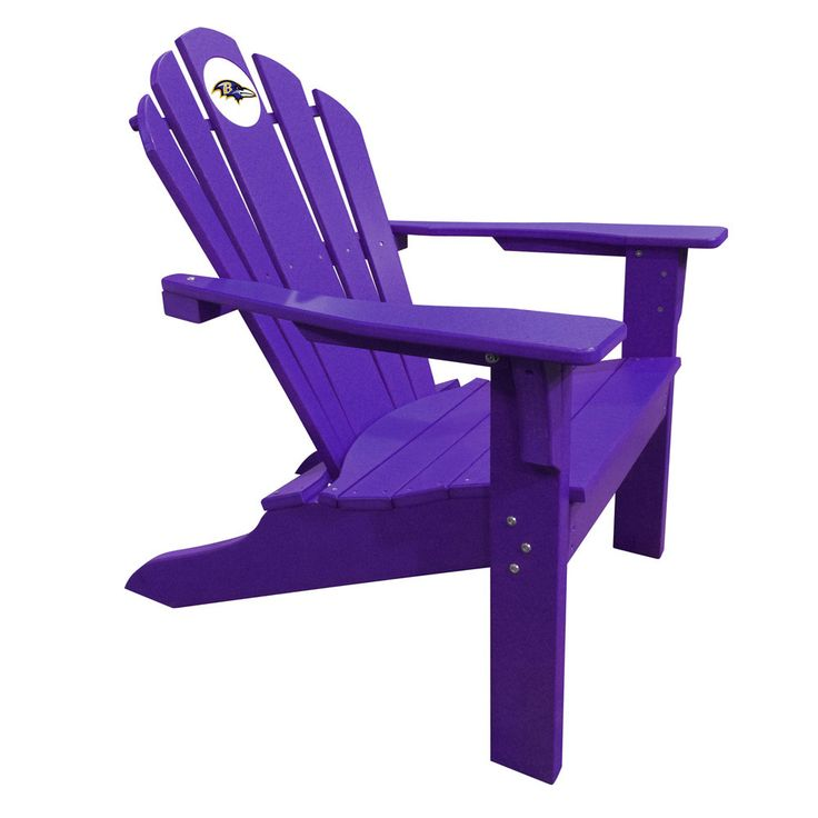 Baltimore Ravens Big Daddy Purple Composite Adirondack Deck Chair