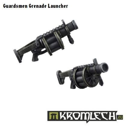 This pack contains five Grenade Launchers. These guns are suitable for any futuristic troopers.