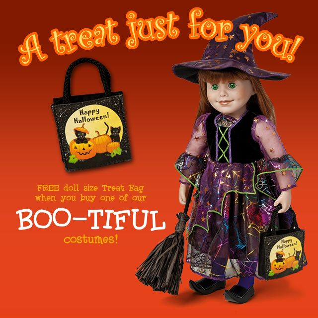 Free bag with purchase of a Maplelea costume! http://ow.ly/pctdG