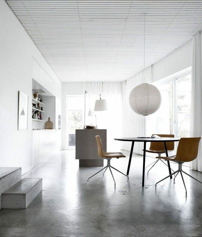 Die besten 25+ Polierter beton Ideen auf Pinterest Säure gebeizt - interieur bodenbelag aus beton haus design bilder