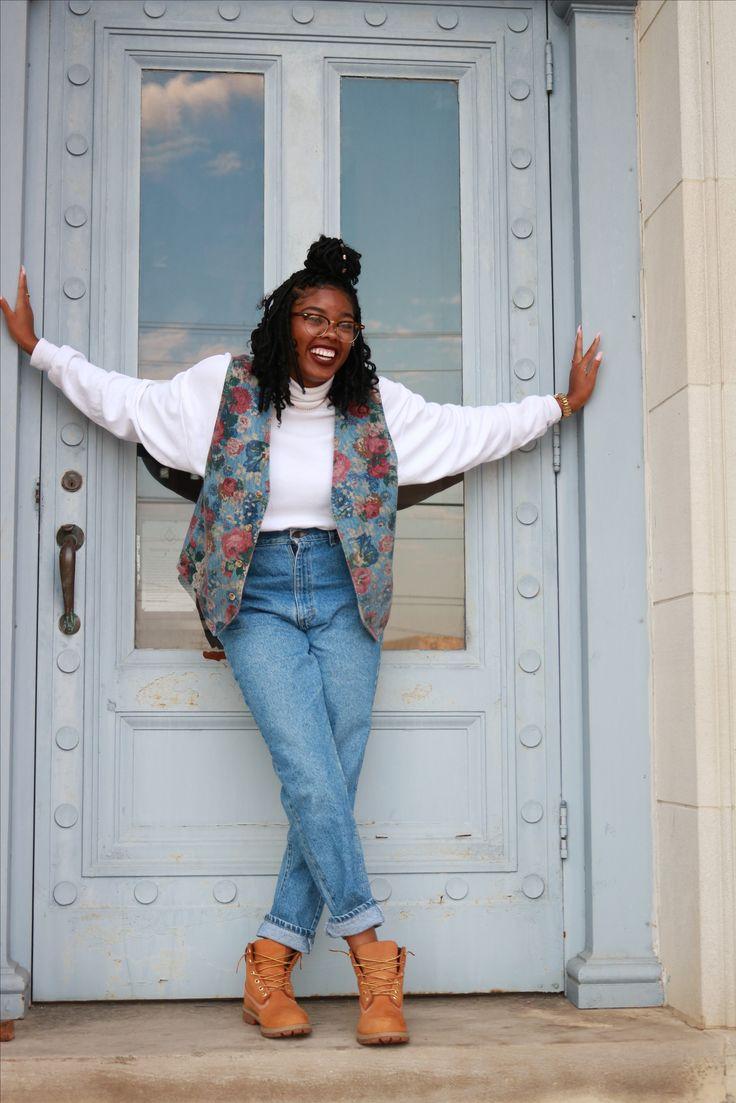 90s baddie 😍  90s outfit black girl fashion girls