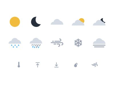 Wildcard Weather Icons