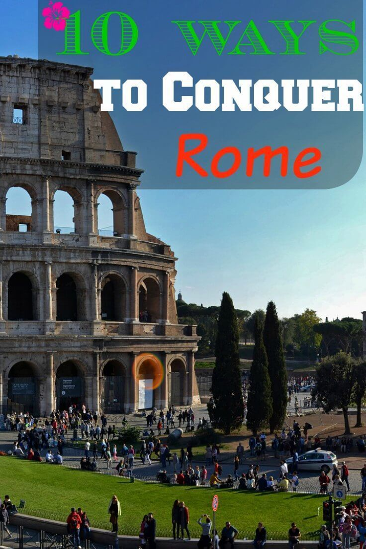 The city of Rome is an enchanting fusion of ancient and modern.  High speed trains whiz by 2,000 year old ruins, and a population of almost 3 million people harmoniously live side by side with artifacts like the Colosseum and the Pantheon.  With such a rich historical presence, it's easy to focus on the ancient when you visit Rome, but try to incorporate some modern experiences into your itinerary to create a balance and don't get stuck in the past! #Rome #Italy #TopTen