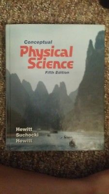 Conceptual Physical Science textbook 5th edition homeschooling