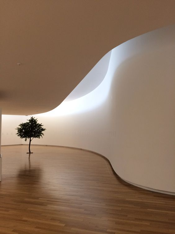 """""""Every design is a rigorous attempt to capture a concrete moment of a transitory image in all its nuances"""" - ALVARO SIZA VIEIRA - (Mimesis Art Museum in Paju by Alvaro Siza)"""