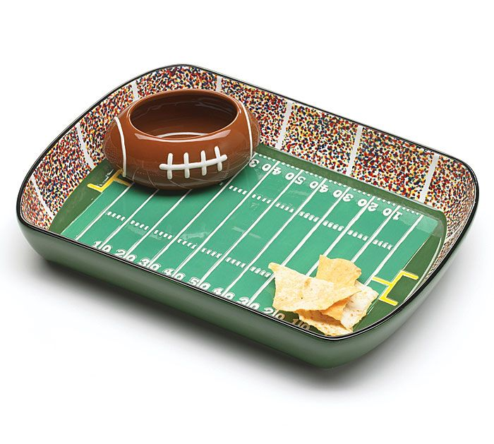 Football Game Dip and Chip Set