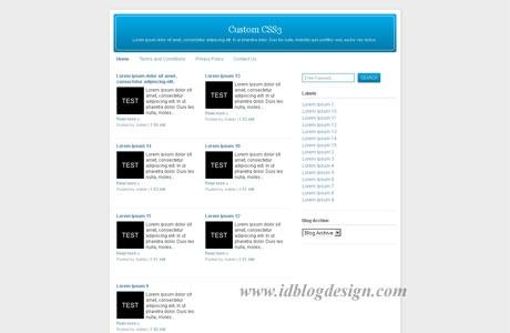 Custom CSS3