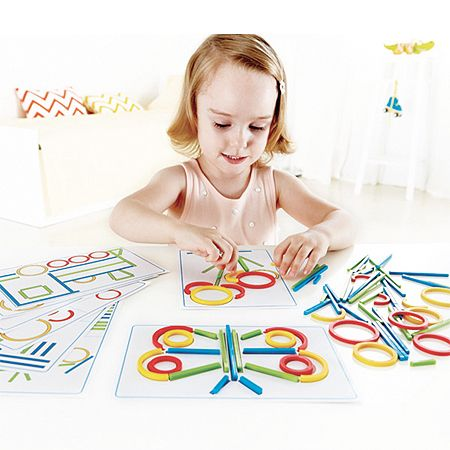 Hape: Rings and Sticks image