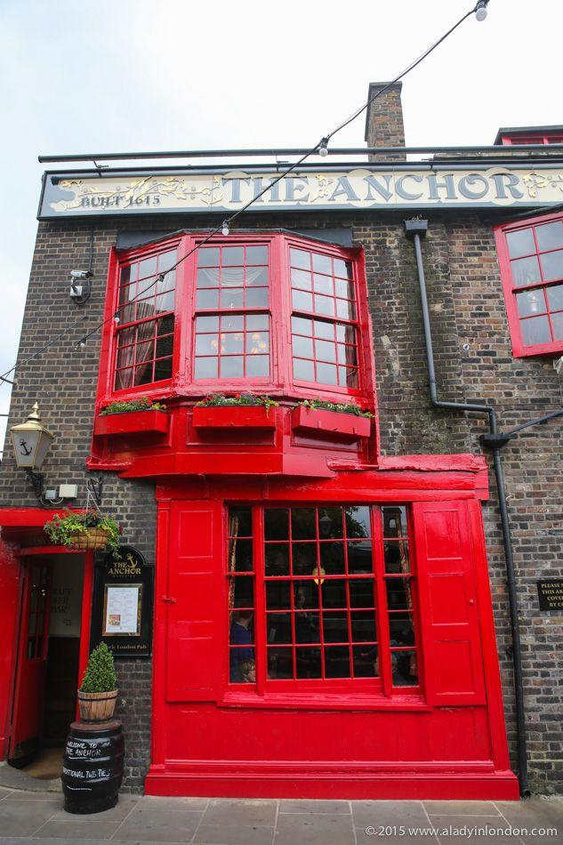 The Anchor Pub, London Bridge, near Shakespeare's Globe