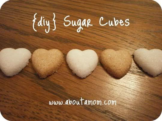 diy sugar cubes