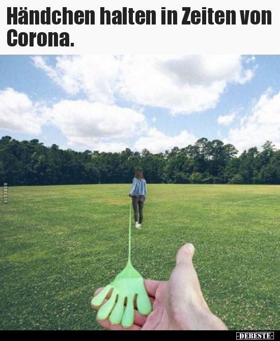 Händchen halten in Zeiten von Corona... in 2020 ...
