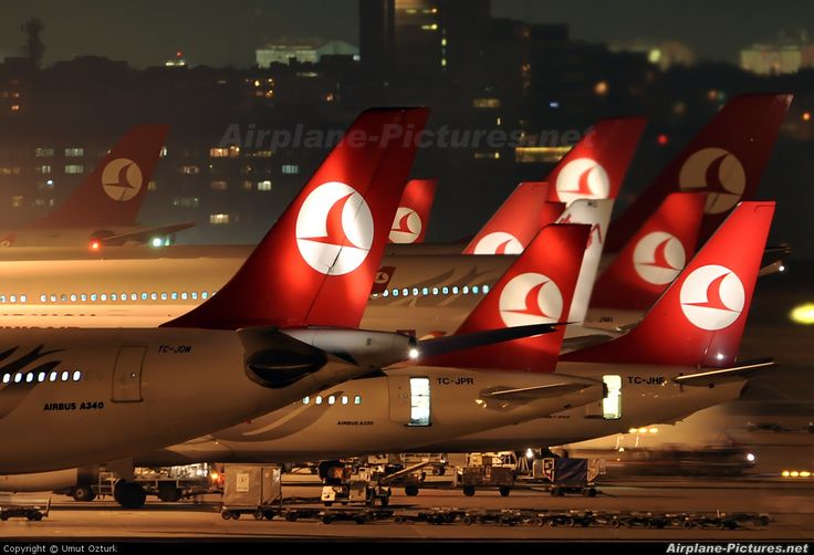 Airport Overview - aircraft at Istanbul - Ataturk photo