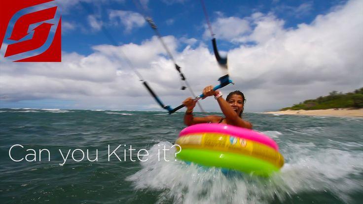 Can you kite it? What can you kite? Can you kite a piece of wood, a blow up toy or a beer fridge door? #canyoukiteit #switchkites #kitesurfing #kiteboarding  Starring: Felix Pivec (Strapless Guru) and Greta Menardo (Kite Babe) Location: Oahus North Shore – Mokuleia, Hawaii