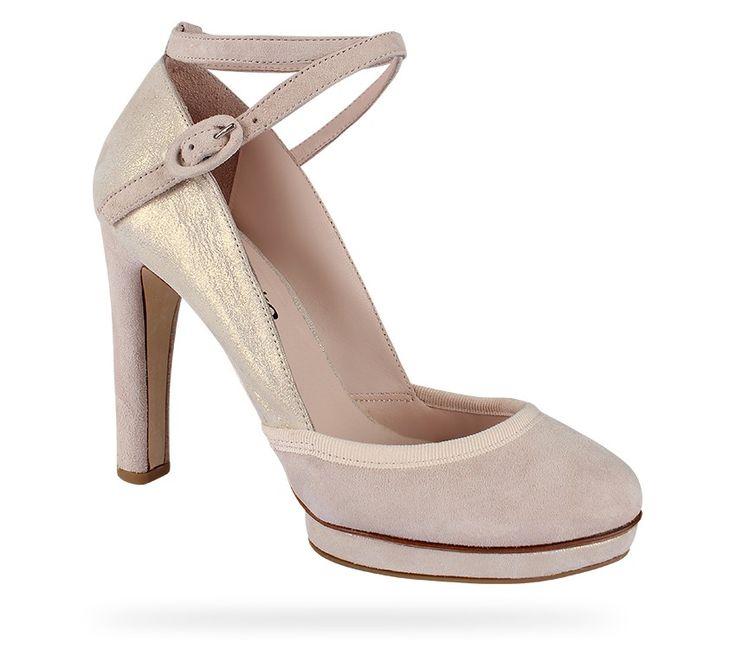 Charles IX Onora Blanc Esprit Chèvre velours cristal et Chèvre velours Wedding shoes idea