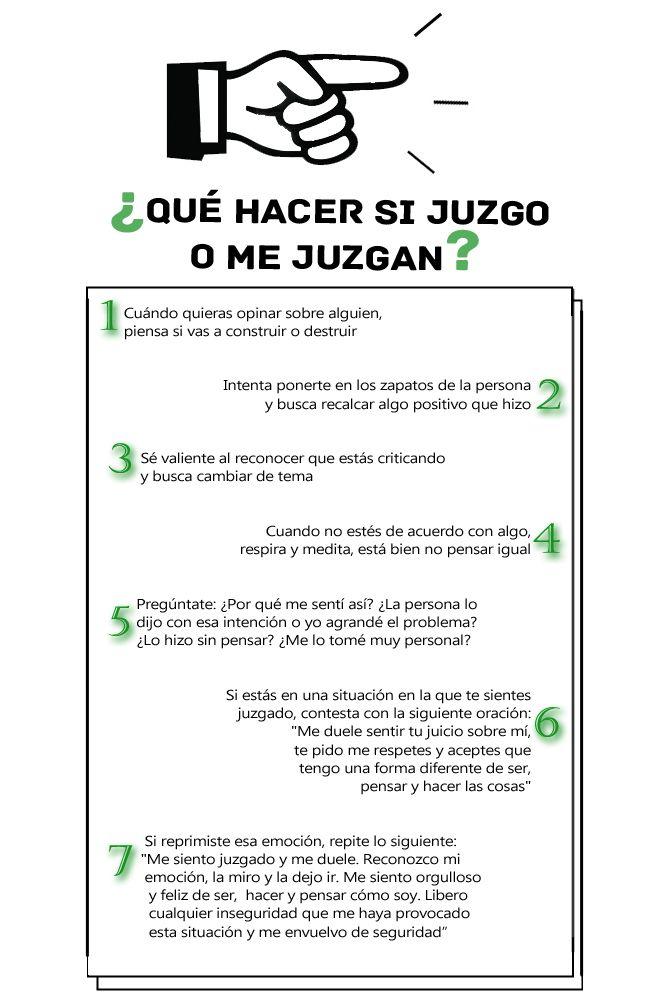 PLAYERS of life - 7 TIPS PARA DEJAR DE JUZGAR