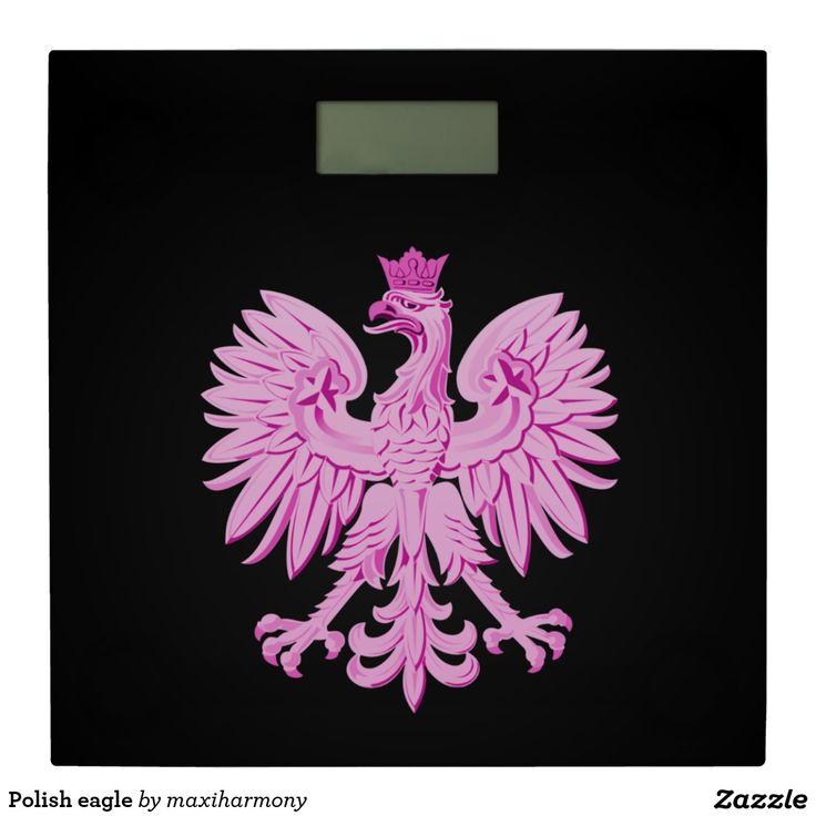 Polish eagle bathroom scale