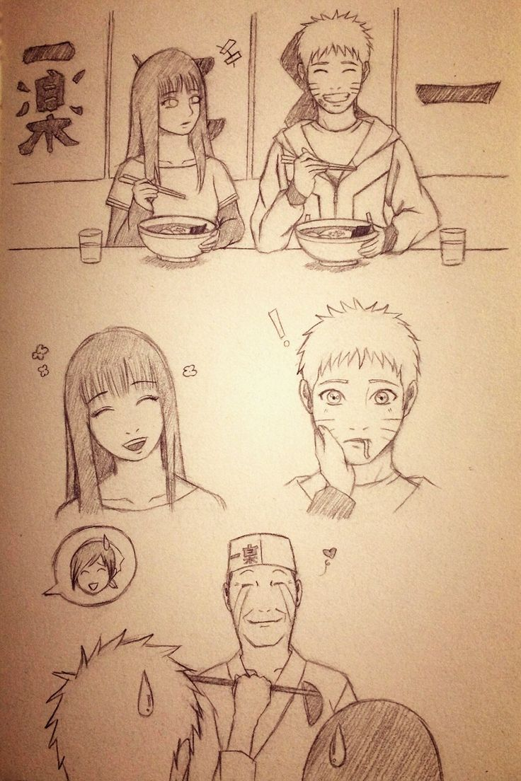 #naruhinaislove Teuchi's happy that Naruto has someone who loves him. Teuchi: My little boy's become a man!