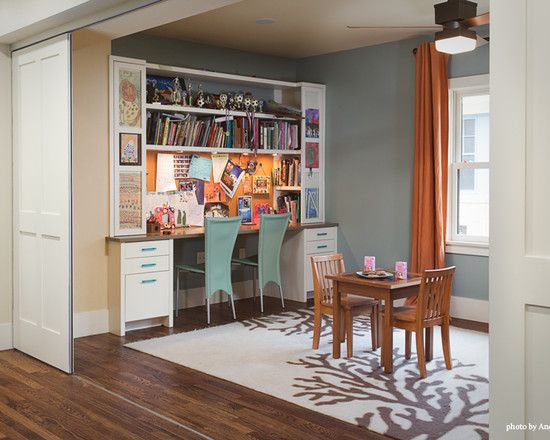 17 best ideas about office playroom on pinterest for Dining room office combo ideas