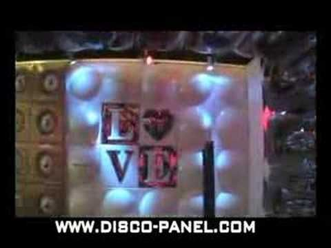 http://www.disco-designer.com DISCO PANEL IS PLASTIC BUBBLE LED WALL PANEL PERFECT FOR NIGHTCLUB APPLICATIONS.THE VIDEO IS FROM FRANKFURT PRO LIGHT AND SOUND FAIR