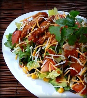 I love chicken salads!Cooking Recipe, Southwest Bbq, Chicken Salads, Bbq Chicken, Southwestern Bbq, Chicken Salad Looks, Products Reviews, Chicken Salad 3, Mih Products