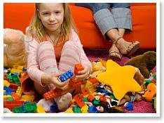 cutting down on kid clutter