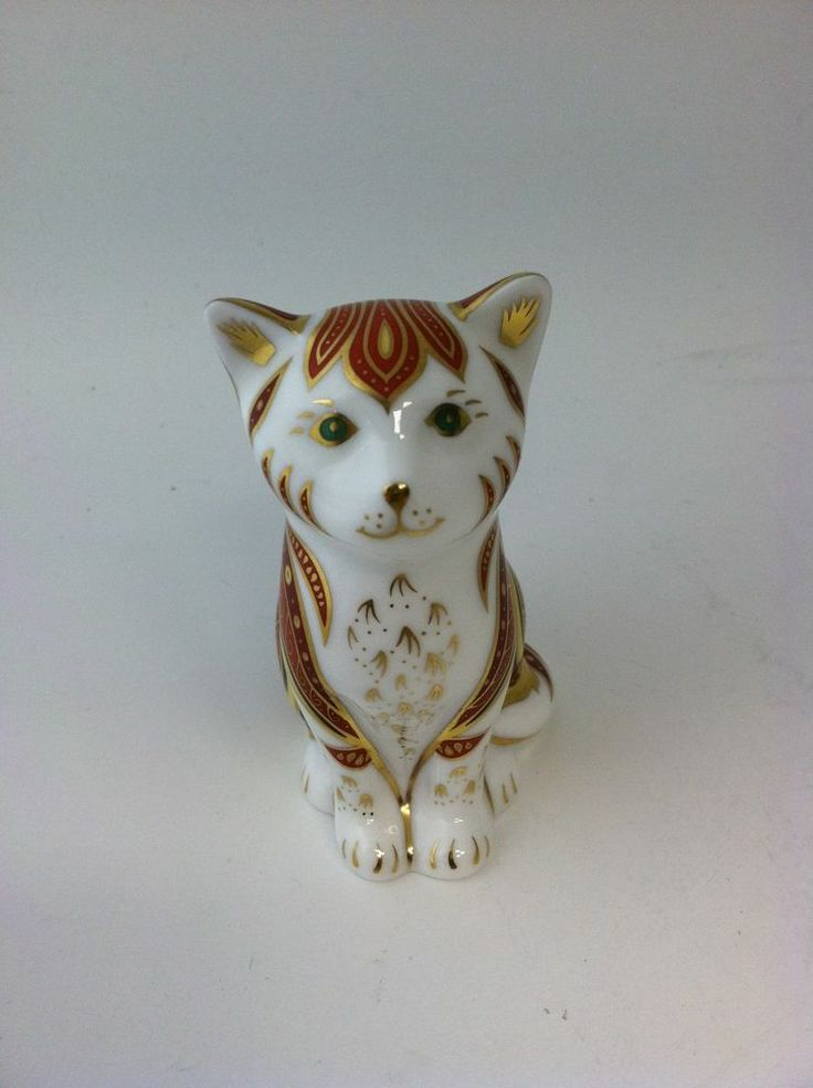 Royal Crown Derby Cat Marmalade 1735 of 2500 Limited ...