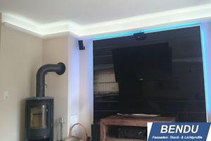 BENDU-LED-Stuckleiste-Lichtprofile-indirekte-Beleuchtung-Stuckprofile-Hartschaum