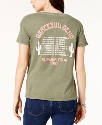 Junk Food Grateful Dead Cotton Graphic T-Shirt - Green XS