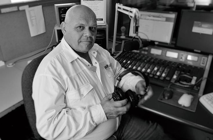 Aboriginal Broadcaster Tiga Bayles was a pioneer in Indigenous Radio and Media photograph Wayne Quilliam