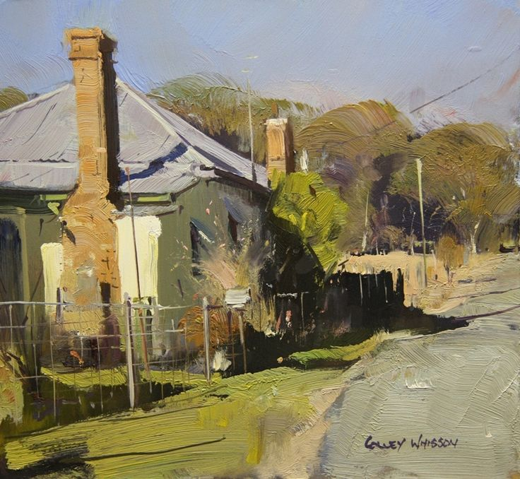 "Artist Colley Whisson Paintings | Tenterfield Homestead"" by Colley Whisson"