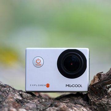 MGCOOL Explorer ES 3K Action Camera Allwinner V3 Sport DV Cam 170 Degree Wide Angle