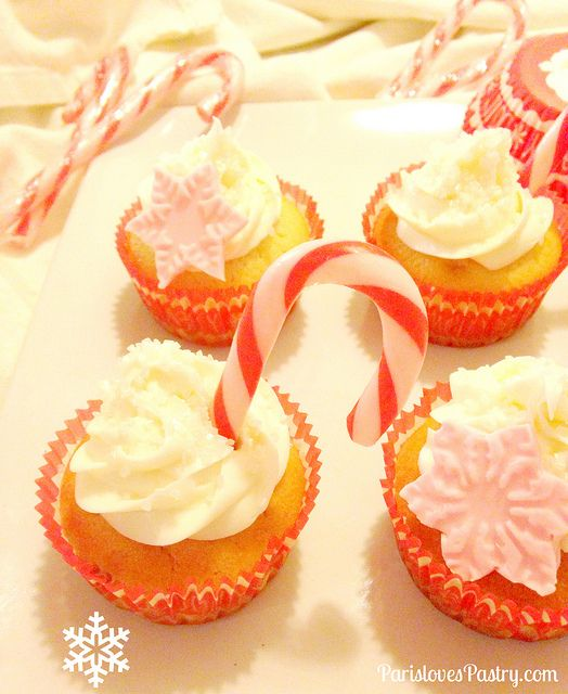 candy cane cream puffs candy cane chocolate candy cane snowflakes ...