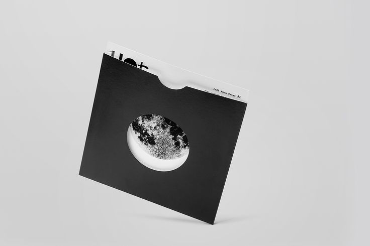 Wave Of Tomorrow (WOT) identity. Invite in record sleeve. Design by Stephan Lerou.
