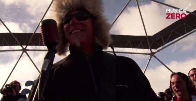 Concierto de Metallica en la Antártida en alta definición