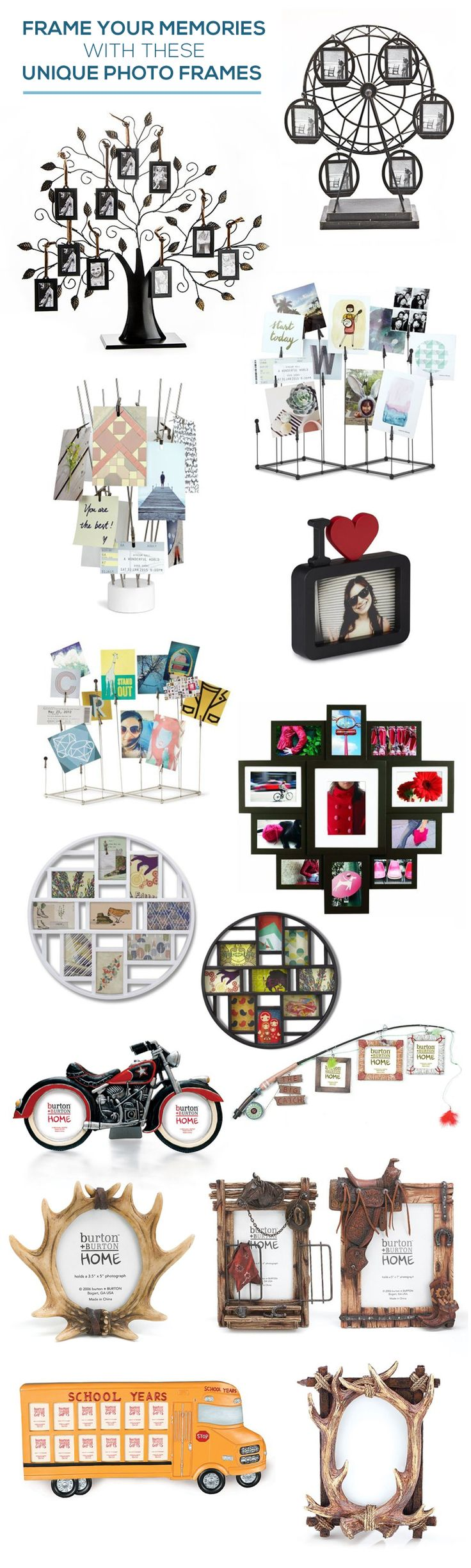 Frame Your Memories with These Unique Photo Frames