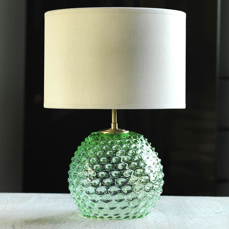Green diamond tip table lamp graham and green