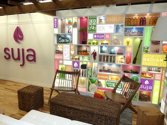 The best trade show booths from Natural Products Expo West 2014 were given  to Suja and Bitsy's Brainfood for their fantastic creativity and execution.