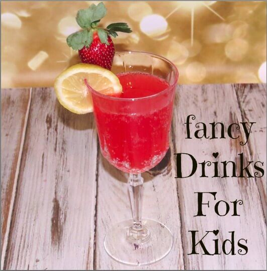 Champagne fruit punch recipe for Kids