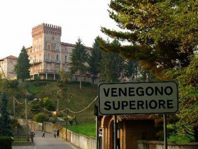 Veduta sul castello dei Missionari Comboniani di Venegono Superiore