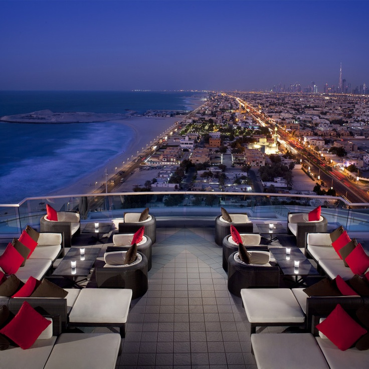 Jumeirah Beach Hotel - Dubai Restaurants - Uptown bar