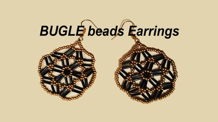 10 Images About Bugle Bead Patterns On Pinterest