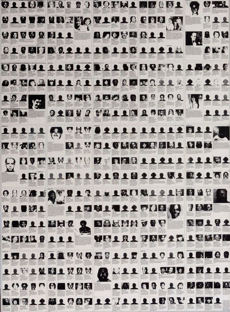 Artwork by Felix Gonzalez-Torres - Untitled (Death by Gun), (1990) | Print on paper, endless copies | Artstack - art online