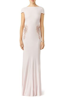 Blush Belle Gown By Badgley Mischka Cottilion Pinterest And Gowns