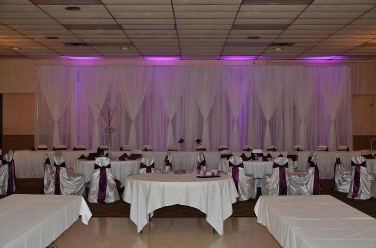 Reception Backdrop Ideas Kimberly Lace Wedding