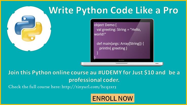 45 best python course images on pinterest python a student and desk and write python code like a pro join today at udemy and access any course for 10 only limited time offer use coupon code python30foryou fandeluxe Image collections
