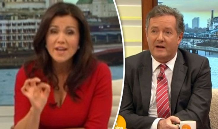 awesome Susanna Reid SCOLDS 'blood boiling' Piers Morgan for labelling himself a 'feminist' Check more at https://epeak.in/2017/01/23/susanna-reid-scolds-blood-boiling-piers-morgan-for-labelling-himself-a-feminist/