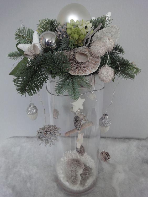 Maak een kerststuk bovenop een vaas en creer zo iets unieks! 9 gave ideetjes!! - Pagina 2 van 9 - Zelfmaak ideetjes