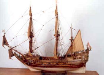 In 1644 kocht Michiel een eigen schip, de Salamander. Hij voer toen als een zelfstandige kapitein-koopman langs West-Indië en Noord-Afrika.