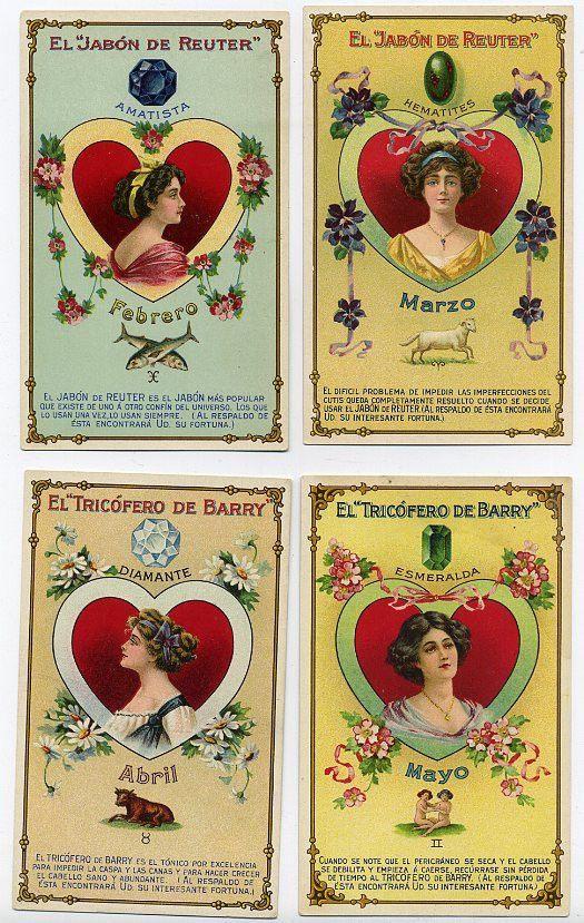 Set Completo 12 Tricofero De Barry ad Tarjetas-Español tarjetas comerciales   eBay